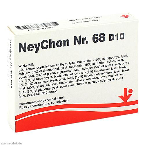 NeyChon Nr. 68 D10, 5X2 ML, Vitorgan Arzneimittel GmbH