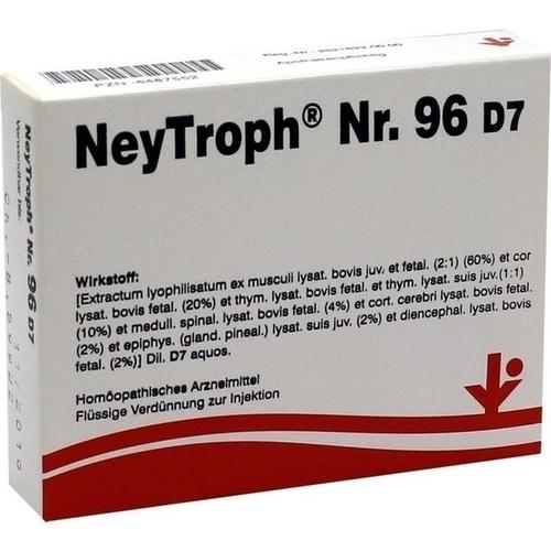 NeyTroph Nr. 96 D7, 5X2 ML, Vitorgan Arzneimittel GmbH