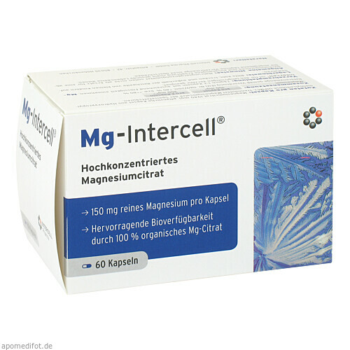 Mg-Intercell, 60 ST, Intercell-Pharma GmbH