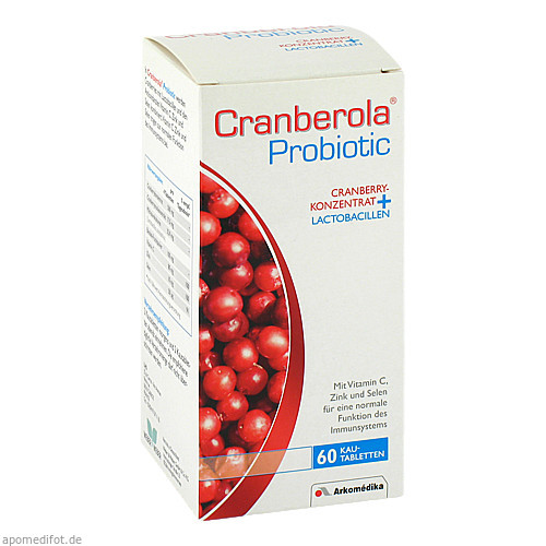 Cranberola Probiotic, 60 ST, Weber & Weber GmbH & Co. KG