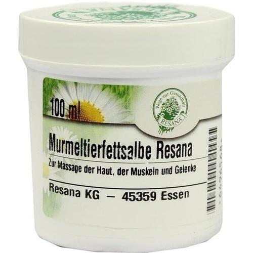 Murmeltierfettsalbe Resana, 100 ML, Resana GmbH