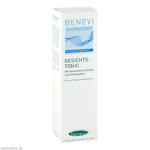 Benevi Hydroderm Gesichts-Tonic, 200 ML, Benevi Med GmbH & Co. KG