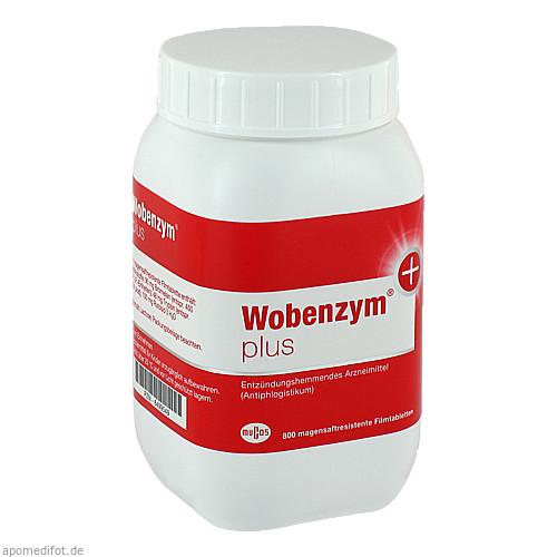 WOBENZYM Plus magensaftresistente Tabletten, 800 ST, MUCOS Pharma GmbH & Co. KG