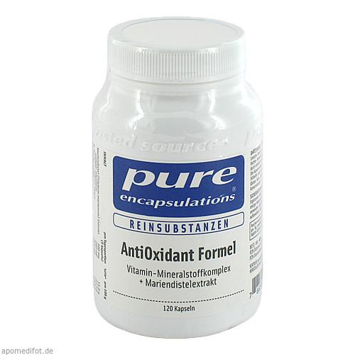 PURE ENCAPSULATIONS Antioxidant Formel, 120 ST, Pro Medico GmbH
