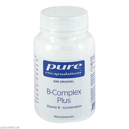 PURE ENCAPSULATIONS B-Complex plus, 60 ST, Pro Medico GmbH