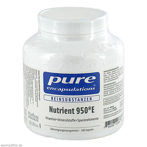 PURE ENCAPSULATIONS Nutrient 950E, 180 ST, Pro Medico GmbH
