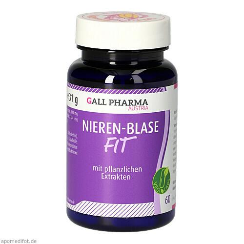 Nieren-Blasen-Fit GPH Kapseln, 60 ST, Hecht-Pharma GmbH