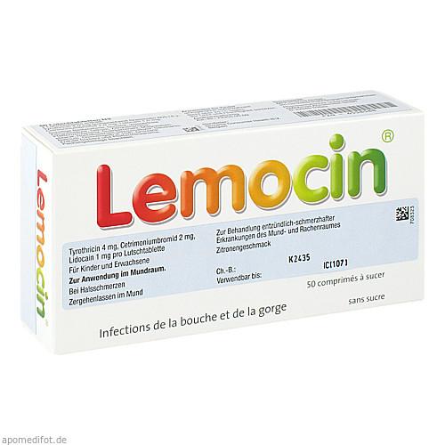 Lemocin Pastillen, 50 ST, Emra-Med Arzneimittel GmbH