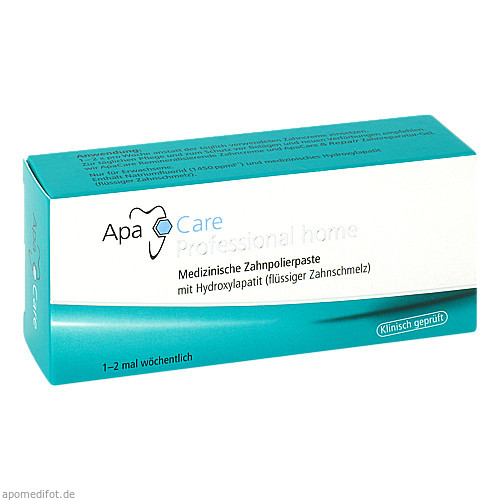 APA CARE Professional Home Zahncreme, 15 ML, Cumdente GmbH