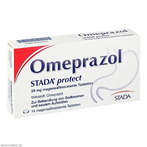 Omeprazol STADA protect 20mg magensaftres. Tabl., 14 ST, STADAPHARM GmbH