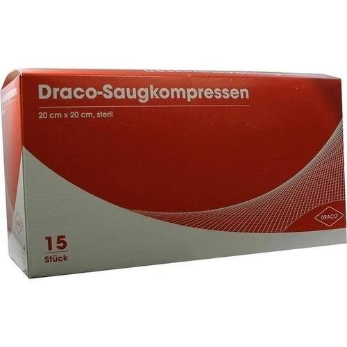 Saugkompressen steril 20x20 DRACO, 15 ST, Dr. Ausbüttel & Co. GmbH