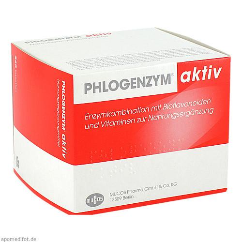 PHLOGENZYM aktiv magensaftresistente Tabletten, 240 ST, MUCOS Pharma GmbH & Co. KG