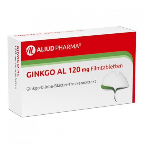 Ginkgo AL 120 mg Filmtabletten, 120 ST, Aliud Pharma GmbH