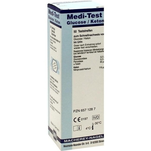 Medi-Test Glucose / Keton, 50 ST, Macherey-Nagel GmbH & Co. KG