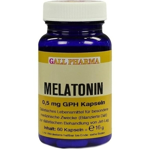 Melatonin 0.5mg GPH Kapseln, 60 ST, Dgs Consulting