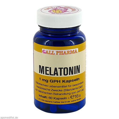 Melatonin 1mg GPH Kapseln, 60 ST, Dgs Consulting