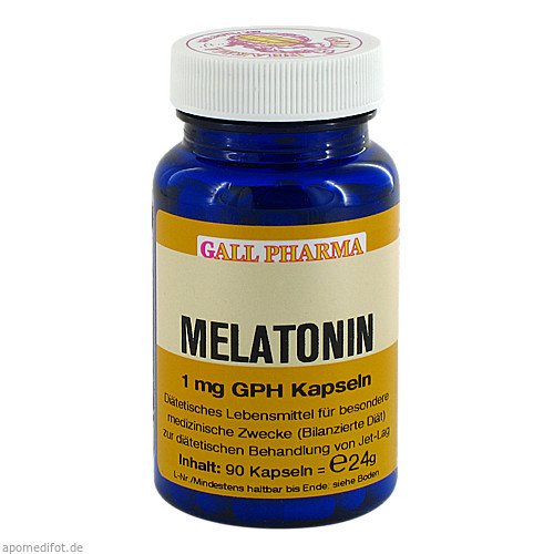 Melatonin 1mg GPH Kapseln, 90 ST, Dgs Consulting