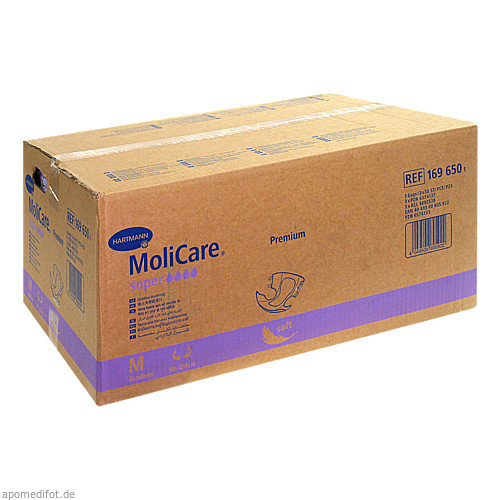 MOLICARE Premium soft super Inkon.Slip Gr.2 M, 3X30 ST, Paul Hartmann AG