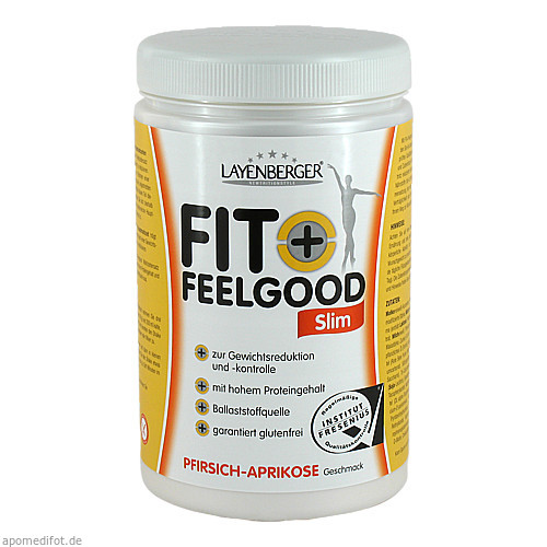 Layenberger Fit+Feelgood SLIM Mahlz.Ersa Pfir-Apri, 430 G, Layenberger Nutrition Group GmbH