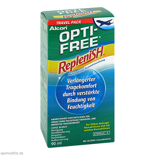 Optifree Replenish, 90 ML, Alcon Pharma GmbH