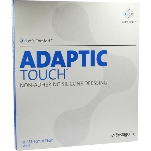 ADAPTIC Touch 12.7x15 nichthaft. Silikon Wundaufl., 10 ST, Kci Medizinprodukte GmbH