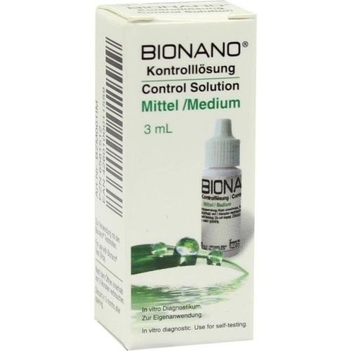 Bionano Blutzucker-Kontrolllösung mittel, 1 ST, Imaco GmbH