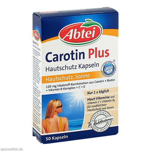 Abtei Carotin Plus Hautschutz Kapseln, 50 ST, Omega Pharma Deutschland GmbH