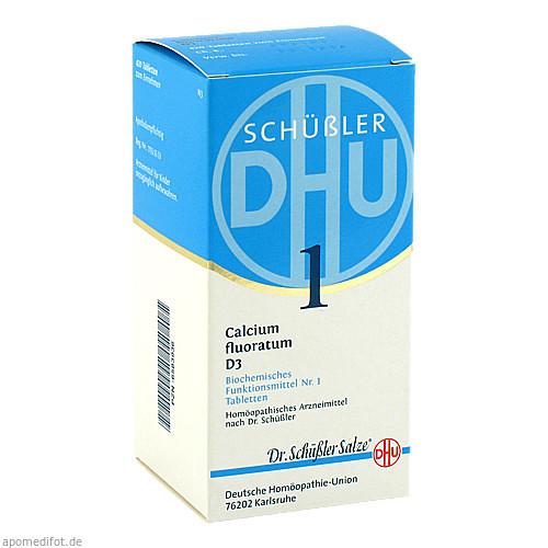 BIOCHEMIE DHU 1 Calcium fluoratum D 3 Tabl., 420 ST, Dhu-Arzneimittel GmbH & Co. KG