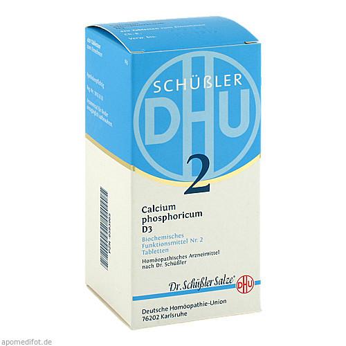 BIOCHEMIE DHU 2 Calcium phosphoricum D 3 Tabl., 420 ST, Dhu-Arzneimittel GmbH & Co. KG