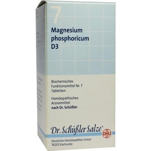 BIOCHEMIE DHU 7 Magnesium phosphoricum D 3 Tabl., 420 ST, Dhu-Arzneimittel GmbH & Co. KG