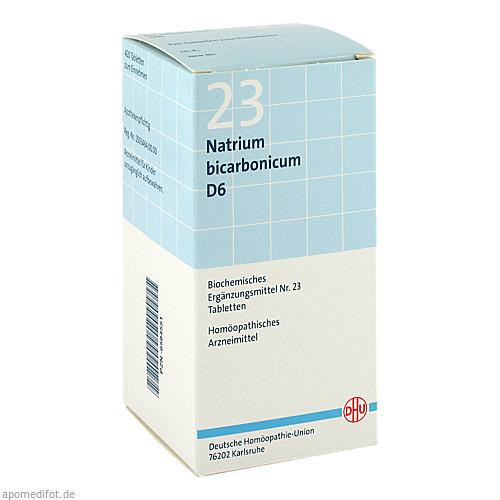BIOCHEMIE DHU 23 Natrium bicarbonicum D 6 Tabl., 420 ST, Dhu-Arzneimittel GmbH & Co. KG