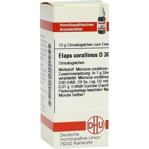 ELAPS CORALLINUS D30, 10 G, Dhu-Arzneimittel GmbH & Co. KG