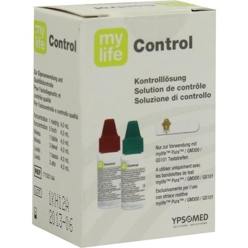 mylife control Lösung hoch/tief, 2X4 ML, Ypsomed GmbH