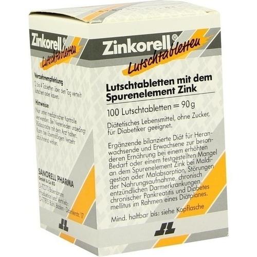 Zinkorell Lutschabletten, 100 ST, Sanorell Pharma GmbH & Co. KG