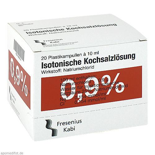 KOCHSALZ 0.9% ISOTON PL, 20X10 ML, Fresenius Kabi Deutschland GmbH