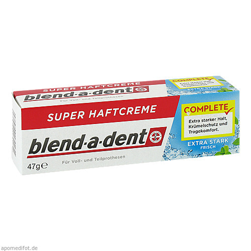 BLEND A DENT SUPER HAFTCREME EXTRA FRISCH 806927, 40 ML, Wick Pharma / Procter & Gamble GmbH