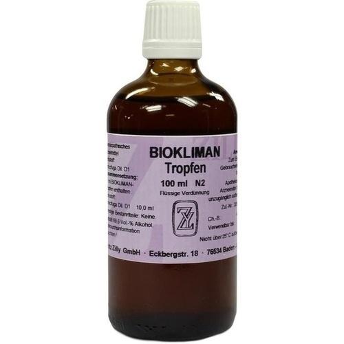 BIOKLIMAN TROPFEN, 100 ML, Fritz Zilly GmbH