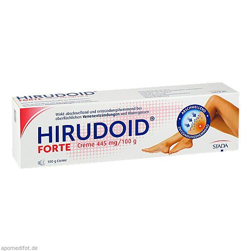 Hirudoid FORTE Creme 445 mg/100 g, 100 G, STADA Consumer Health Deutschland GmbH