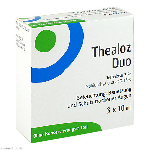 Thealoz Duo, 3X10 ML, Thea Pharma GmbH