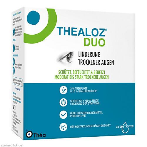 Thealoz Duo, 3X10 ML, Thea Pharma GmbH