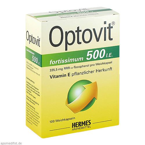 Optovit fortissimum 500, 100 ST, Hermes Arzneimittel GmbH