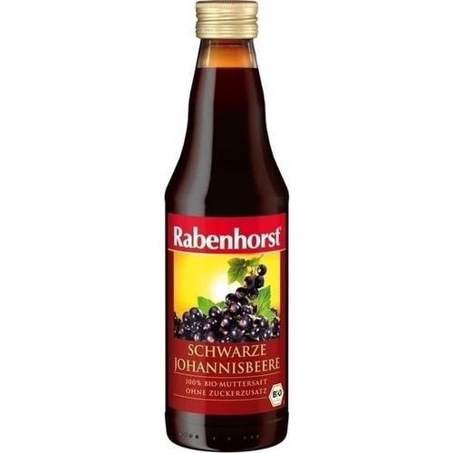 Rabenhorst Schware Johannisbeere Bio Muttersaft, 330 ML, Haus Rabenhorst O. Lauffs GmbH & Co. KG