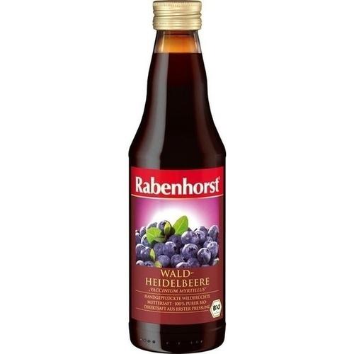 Rabenhorst Heidelbeer Bio Muttersaft, 330 ML, Haus Rabenhorst O. Lauffs GmbH & Co. KG