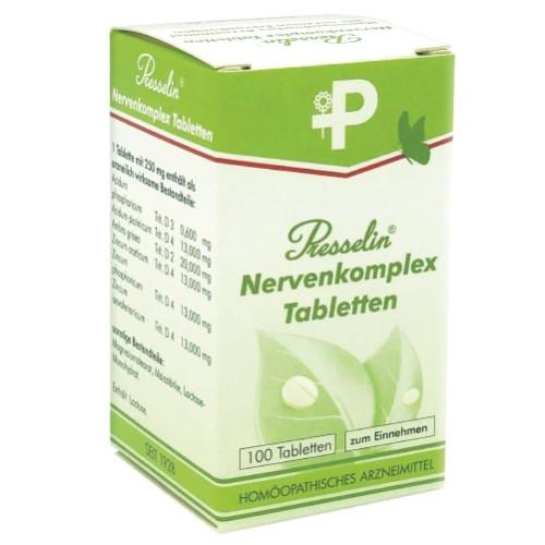 Presselin Nervenkomplex, 100 ST, Combustin Pharmaz. Präparate GmbH