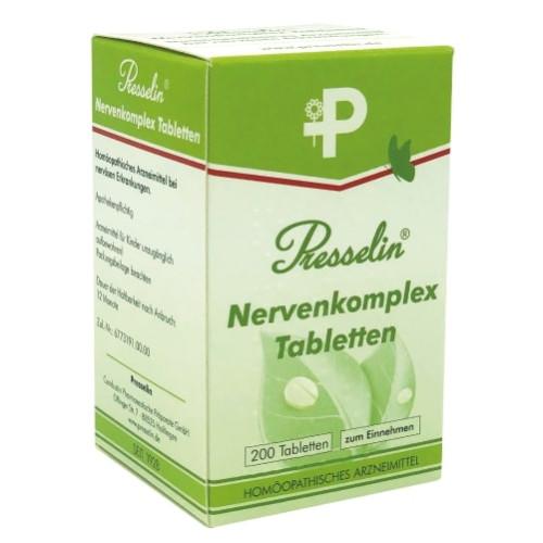 Presselin Nervenkomplex, 200 ST, Combustin Pharmaz. Präparate GmbH