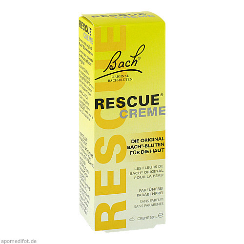 Bach Original Rescue Creme, 50 G, Nelsons GmbH
