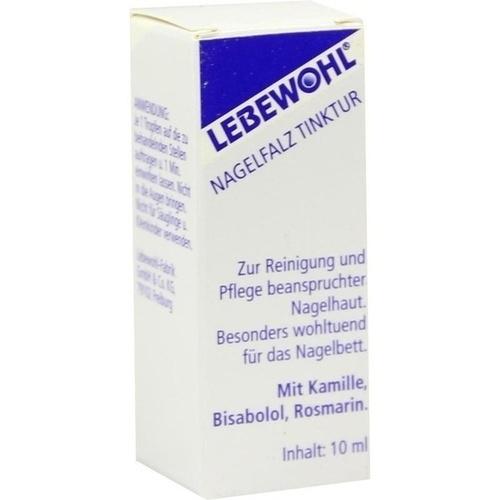 LEBEWOHL Nagelfalz Tinktur, 10 ML, lebewohl-Fabrik GmbH & Co. KG