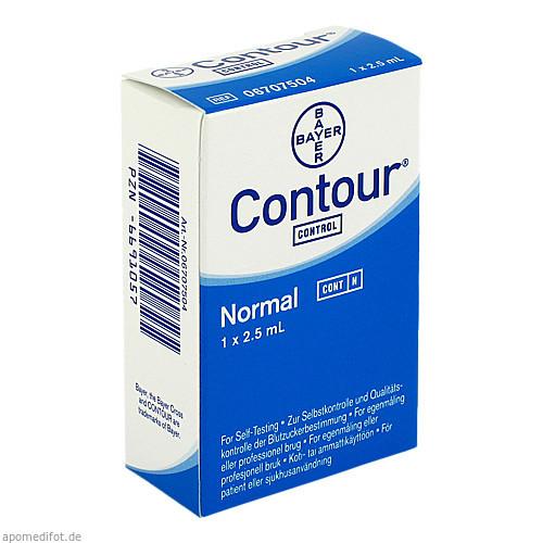 CONTOUR Kontroll-Lösung normal, 1 ST, Ascensia Diabetes Care Deutschland GmbH