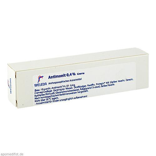 Antimonit 0.4%, 25 G, Weleda AG