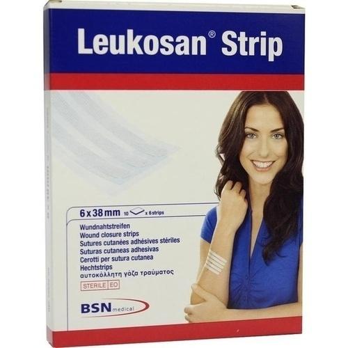 Leukosan Strip 6x38mm, 10X6 ST, Bsn Medical GmbH